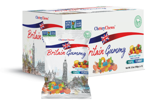 Britain Gummy Suor Party Mix